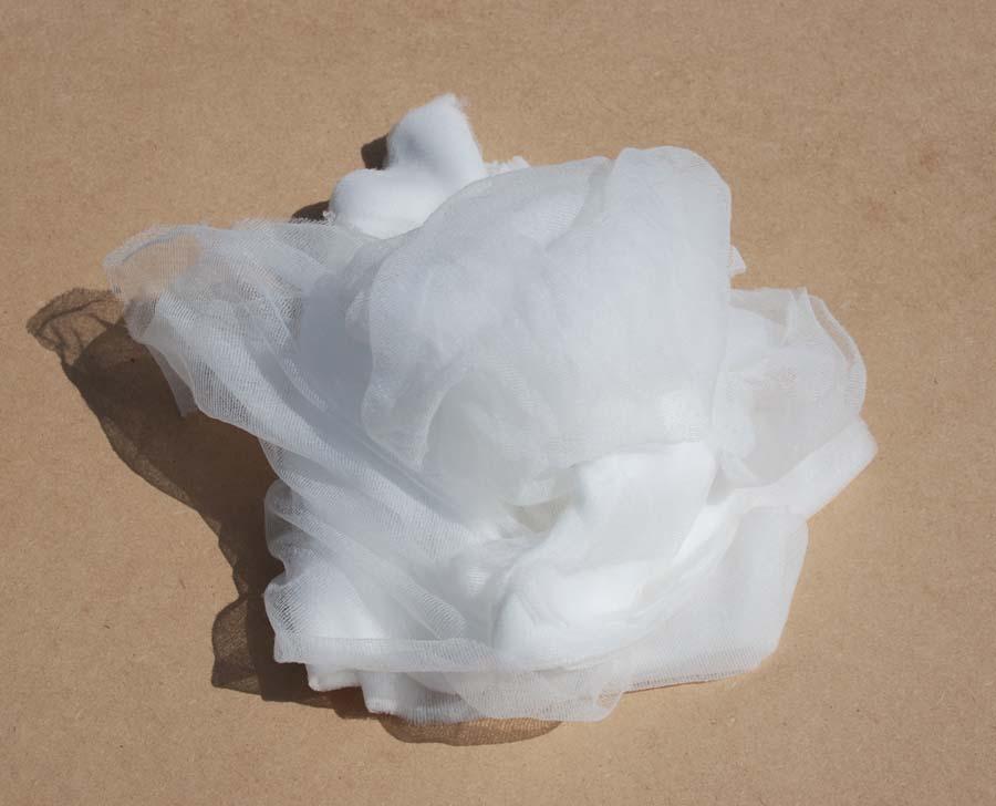 Multicolor white nylon cloths