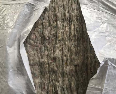 Cascami tessili riciclaggio