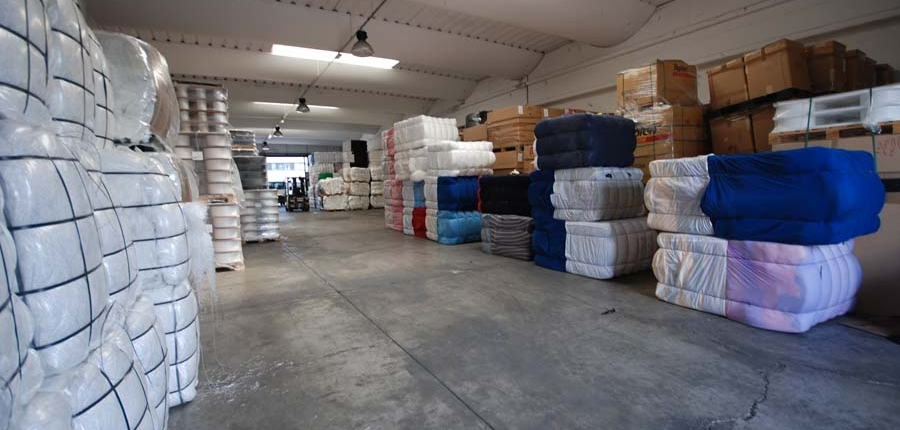 About us we sell textile yarns and waste
